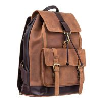 Visconti Rhino ( Oil Tan )   -   Large Leather Backpack